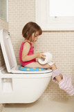 Toilet Training Photographic Print by Ian Boddy
