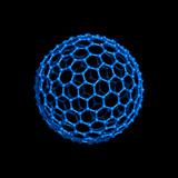 Fullerene Molecule Photographic Print by Laguna Design