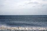 Offshore Wind Farm Reproduction photographique par Victor De Schwanberg