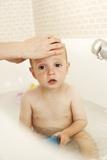 Bathing Child Prints by Ian Boddy