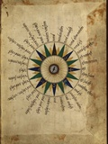Atlas Compass, 16th Century Premium Photographic Print by Library of Congress
