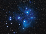 Pleiades Star Cluster Photographic Print by Slawik Birkle
