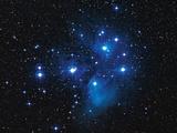 Pleiades Star Cluster Premium Photographic Print by Slawik Birkle