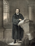 Martin Luther, German Theologian Prints by Library of Congress