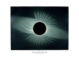 Total Solar Eclipse, 1878 Photographic Print by Science, Industry and Business Library