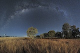 Milky Way Over Parkes Observatory Photographic Print by Alex Cherney