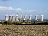 Power Station Cooling Towers Print by Martin Bond