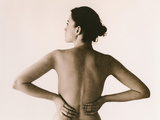 Back Pain Photographic Print by  Cristina