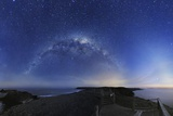 Milky Way Over Phillip Island, Australia Print by Alex Cherney