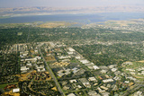 Aerial View of Silicon Valley Photographic Print by  David