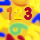 Numbers Photographic Print by Kevin Curtis