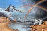 Alien Planet Exploration, Artwork Prints by Richard Bizley