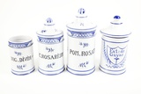 Antique Pharmacy Jars Prints by Gregory Davies