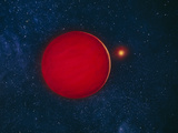 Artist's Impression of Brown Dwarf Star Photographic Print by Chris Butler
