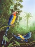 Cretaceous Birds, Artwork Photographic Print by Richard Bizley