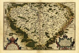 Ortelius's Map of Bohemia, 1570 Poster by Library of Congress