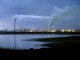 Oil Sands Refinery, Canada Photographic Print by Martin Bond