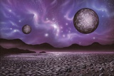 Alien Landscape, Artwork Photographic Print by Richard Bizley