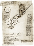 Da Vinci's Notebook Print by Library of Congress
