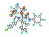 Atorvastatin Drug Molecule Photo by Laguna Design