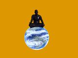 Yoga Meditation Prints by Christian Darkin