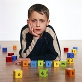 Autistic Boy Photographic Print by Kevin Curtis