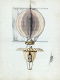 Early Hot Air Balloon Design, 1783 Posters by Library of Congress