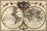 Map of the World, 1720 Photo by Library of Congress