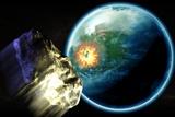 Asteroid Impact Photo by Christian Darkin