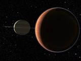 Saturn's Moon Titan Photographic Print by Chris Butler