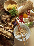 Ingredients for Cooking Thai Food Premium Photographic Print by Erika Craddock