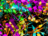 Bluetongue Virus Core Protein Photographic Print by Laguna Design