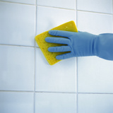 Ceramic Tile Cleaning Photographic Print by  Cristina