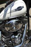 Motorcycle Engine Papier Photo par Tony Craddock
