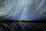 Star Trails Over Lake Tyrrell, Australia Photographic Print by Alex Cherney