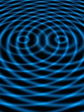 Wave Interference Patterns, Artwork Photographic Print by Victor De Schwanberg