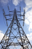 Electricity Pylon Photographic Print by Victor De Schwanberg