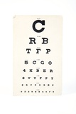 Eyesight Test Chart Photographic Print by Gregory Davies