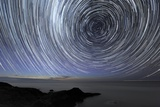 Star Trails Over Flinders, Australia Print by Alex Cherney
