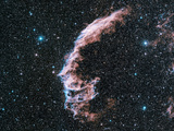 Veil Nebula Supernova Remnant Premium Photographic Print by Davide De Martin