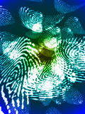 Fingerprints, Computer Artwork Photographic Print by Christian Darkin