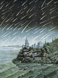 Andromedid Meteor Shower Photographic Print by Science, Industry and Business Library