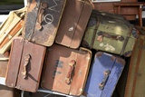 Old Luggage Photographic Print by Victor De Schwanberg