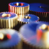 Cogs for Use In a Gearing System Photographic Print by Colin Cuthbert
