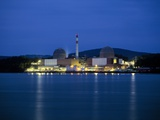 Indian Point Nuclear Power Station Photographic Print by Martin Bond