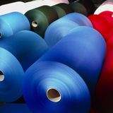 Rolls of Coloured Paper At a Paper Mill Photographic Print by Colin Cuthbert