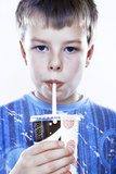 Boy Drinking a Fizzy Drink Posters by Kevin Curtis