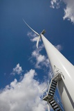 Wind Turbine Photographic Print by Colin Cuthbert