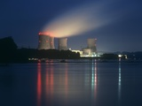 Three Mile Island Nuclear Power Station Photographic Print by Martin Bond