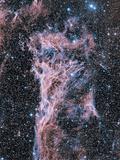 Veil Nebula Supernova Remnant Photographic Print by Davide De Martin